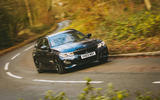 BMW 3 Series Touring 2020 road test review - cornering front