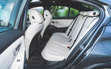 BMW 3 Series 320d 2019 Road Test review - rear seats