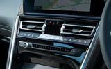 BMW 8 Series Coupé 2019 road test review - climate controls