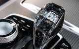 BMW X5 2018 road test review - gearstick