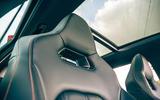 20 Cupra Leon Estate 2021 road test review front seats