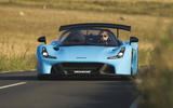 Dallara Stradale 2019 road test review - on the road front