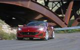 Ferrari Portofino review cornering front
