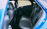 20 Ford Puma ST 2021 road test review rear seats