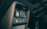 Honda e 2020 road test review - rear sockets