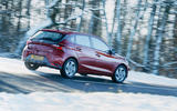 20 Hyundai i20 2021 road test review on road rear