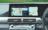 Hyundai Nexo 2019 road test review - navigation