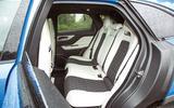 Jaguar F-Pace SVR 2019 road test review - rear seats