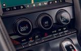 Jaguar F-Type 2020 road test review - climate controls