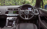 Jaguar I-Pace 2018 road test review dashboard