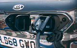 Kia e-Niro 2019 road test review - charging port