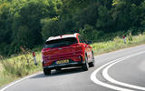 20 Kia Niro 2021 road test review on road rear