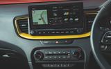Kia Xceed 2019 road test review - infotainment