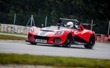 Lotus 3-Eleven 430 review cornering