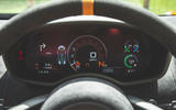 McLaren 600LT Spider 2019 road test review - instruments