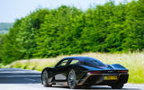 McLaren Speedtail 2020 UK first drive review - on the road rear
