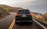 Mercedes-AMG GLS 63 2020 road test review - on the road back end