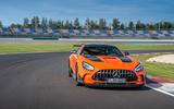 Mercedes-AMG GT Black Series road test review - on track front