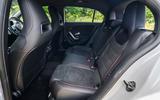 Mercedes-Benz A250e 2020 road test review - rear seats