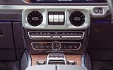 Mercedes-Benz G-Class 2019 road test review - centre console