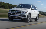 Mercedes-Benz GLE 2018 review - on the road action