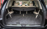 Mercedes-Benz GLS 2020 road test review - boot