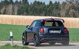Mini JCW GP 2020 road test review - cornering rear