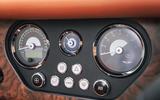 Morgan Plus Six 2019 road test review - gauges