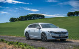 Peugeot 508 SW Hybrid 2020 road test review - static