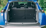 Peugeot e-2008 2020 road test review - boot