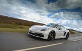 Porsche 718 Cayman GTS 2018 review driving