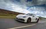 Porsche 718 Cayman GTS 2018 review driving