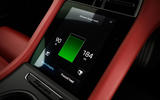 Porsche Taycan 2020 road test review - battery status