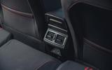 20 Renault Megane E Tech PHEV road test 2021 rear air vents