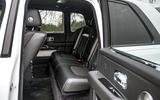 Rolls Royce Cullinan 2020 road test review - rear seats