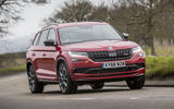 Skoda Kodiaq vRS 2019 road test review - on the road front