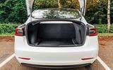 Tesla Model 3 road test - rear boot