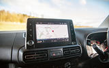 Vauxhall Combo Life 2018 road test review - infotainment