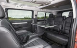 Vauxhall Vivaro Life 2019 road test review - table