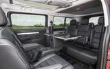 Vauxhall Vivaro Life 2019 road test review - table