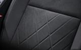 Volkswagen Golf 2020 road test review - seat details