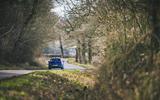 20 Volkswagen Golf R 2021 RT on road rear