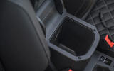 Volkswagen T-Roc Cabriolet 2020 road test review - armrest storage