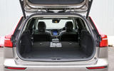 Volvo V60 2018 road test review rear seats flat