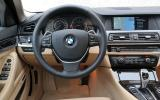 BMW 528i steering wheel