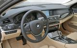 BMW 535i interior