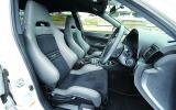 Subaru Impreza WRX STI Nurburgring interior