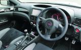 Subaru Impreza WRX STI Nurburgring dashboard