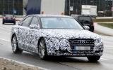 Audi A8 facelift in development