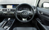 Lexus GS dashboard